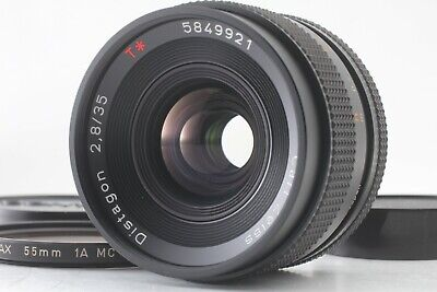 【Near Mint】 CONTAX Carl Zeiss Distagon T* 35mm F/2.8 AEJ MF Lens Mount JAPAN 252