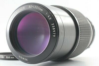 【Exc++++】 Nikon Zoom Nikkor Non-Ai 80-200mm f/4.5 MF Zoom Lens from JAPAN 14