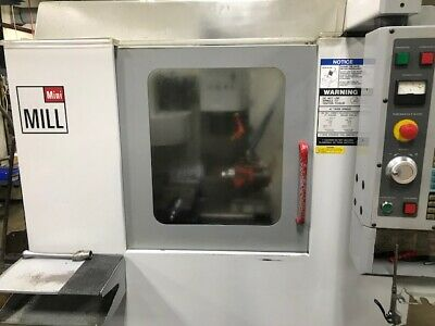USED HAAS MINI MILL CNC VERTICAL 2004 includes 5C Indexer Screaming Deal!