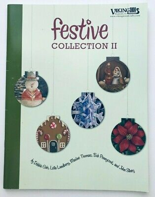Festive Collection II by 5 Artists Christmas Decorative Tole Painting Book