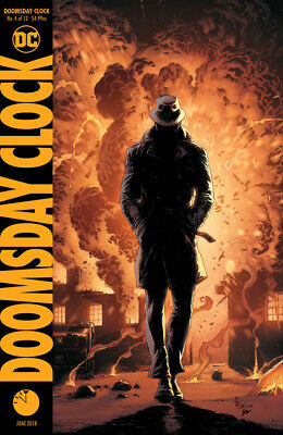 Doomsday Clock #4 (NM)`18 Johns/ Frank  (Cover B)