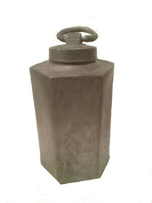 Pewter Bottle | 18th Century | Zinn Schraubflasche