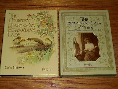 Edith Holden Lot The Country Diary of an Edwardian Lady 1977 DJ Story Of