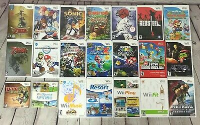 Lot of Wii Games, You Choose!