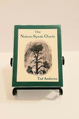 The Nature Speak Oracle Ted Andrews 60 cards & 180 page book