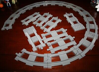 for Thomas Sets 4 Straight Sections 1837 Lego Duplo Train Track Spares