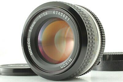 [Mint] Nikon Ai Nikkor 50mm f/1.4 Manual Foucus Lens from JAPAN 0640