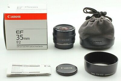 【MINT in BOX】Canon EF 35mm f/2 EF Lens from japan #039