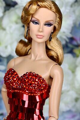 Fashion Royalty Red Sequin Dress foe Integritytoys, FR2, FR6.0, Barbie