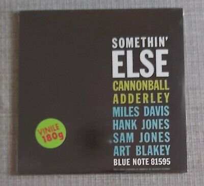 CANNONBALL ADDERLEY-SOMETHIN' ELSE-BRAND NEW 180g RE-ISSUE LP ON BLUE NOTE
