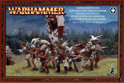 Warhammer Age of Sigmar Freeguild Guard / State Troops Bits