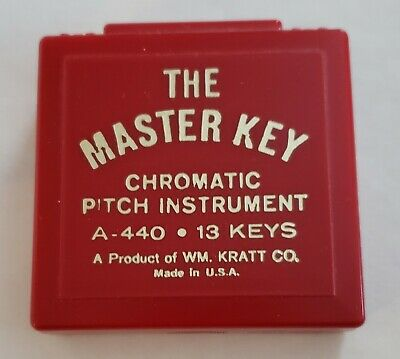The Master Key Pitch Instrument