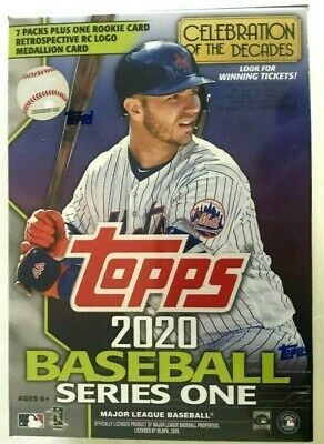 2020 Topps Series 1  Baseball Blaster Box ( Medallion Card )