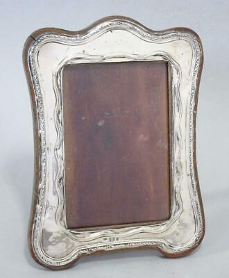 BEAUTIFUL ANTIQUE ART NOUVEAU SOLID STERLING SILVER PICTURE PHOTO FRAME 1910  i