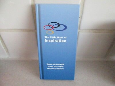 BNM Condition The Little Book of Inspiration Signed Steve Backley Rodger Black