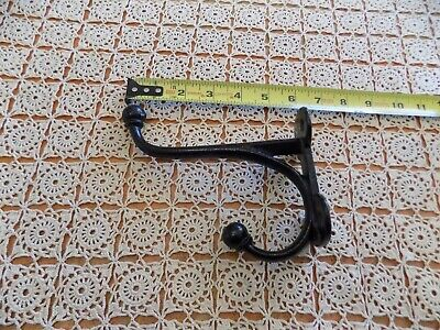 Antique Black Metal Door Wall Hook