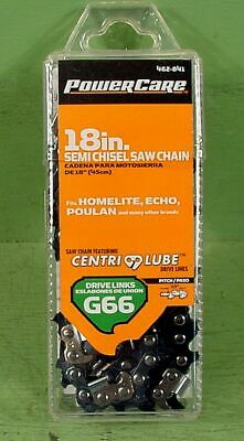 """Power Care 18/"""" Semi Chisel Chainsaw Blade New in Pack B72NK Poulan Husqvarna"""