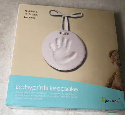 Babyprints Pearhead Keepsake - Baby Gift Girl/Boy hand or feet prints