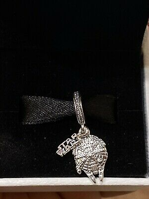 New 2020 Disney Parks Star Wars Millennium Falcon Pandora Charm In Box