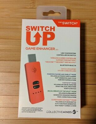 Nintendo Switch Up Game Enhancer Collective Minds In Hand Free Shipping.