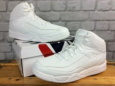 stable quality official site performance sportswear FILA MENS UK 11 Eu 46 White Reptile Immortality 3 Hi Top Trainers ...
