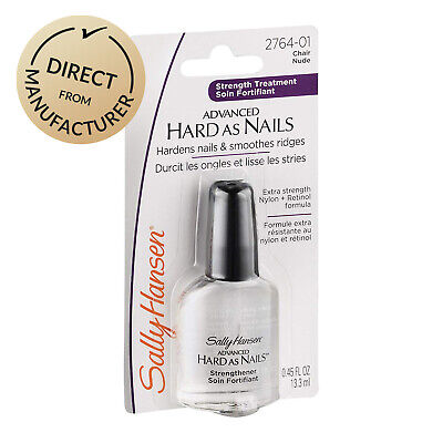 Sally Hansen Advanced Hard As Nails Strengthener Manicure Nail Polish Clear