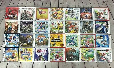 Lot of Nintendo DS/3DS Games, You Choose!