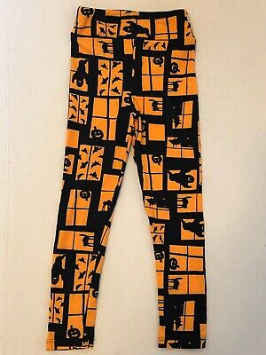 Lularoe Kids Halloween Leggings (size S/M)