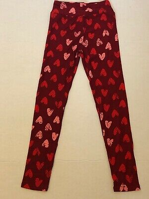 Lularoe Valentines Day Leggings (size Tween)