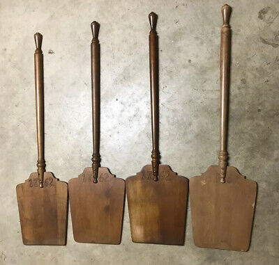 Tell City Chair Company Solid Hard Rock Maple Set of 4 Bread Peels