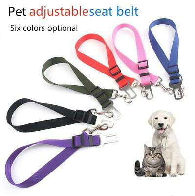 Vehicle  Dog Seat Belt Harness Lead Clip Safety Lever Auto Traction