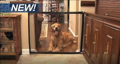Portable Folding Indoor/Outdoor  Safety Magic Gate For Dogs