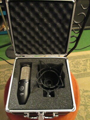 AKG P-220 Studio Condenser Microphone in box with mount Near Mint - Local Pickup