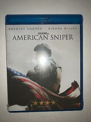 AMERICAN SNIPER Cooper Miller Brand New Blu-Ray + DVD NEW SEALED