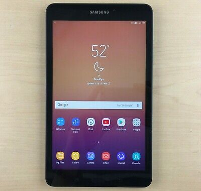 "Samsung Galaxy Tab A SM-T380 Tablet 8"" 16GB & 32GB Android Tablet SM-T380NZKIXAR"