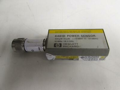 Agilent 8481D Diode Power Sensor, 10 MHz to 18 GHz