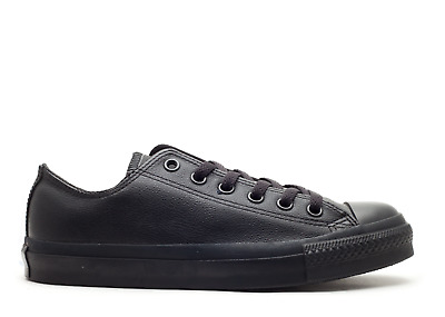 CONVERSE 1T865 CHUCK Taylor All Star Leather Low Top Black