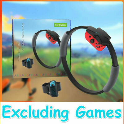 For Nintendo Switch Fitness Ring Fit Adventure Fitness Healthy Exercise BEST CA