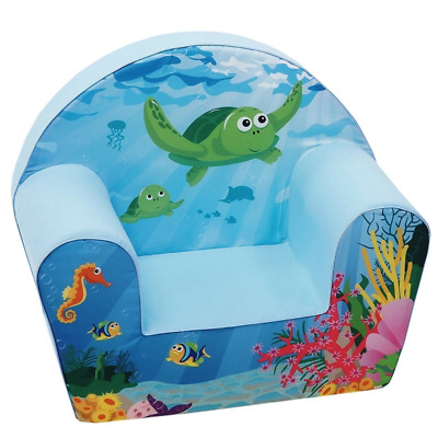 Knorrtoys 68316 knoortoys Children's Armchair-Sea Life, Multi Color