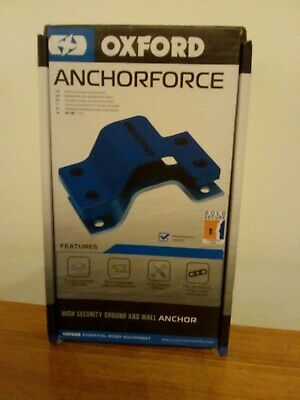 Oxford Anchor Force Ground Anchor Motorcycle Motorbike Security New