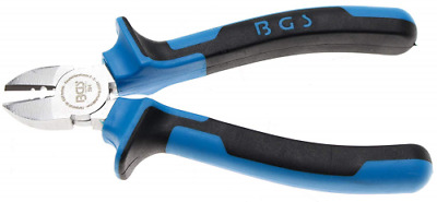 BGS 394 | Diagonal Side Cutters | Stripper function | 165 mm