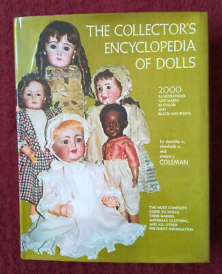 Buch THE COLLECTOR´S ENCYCLOPEDIA OF DOLLS  Coleman original von 1968 Puppen