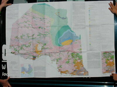 Geology Of Northern Ontario Travel Map