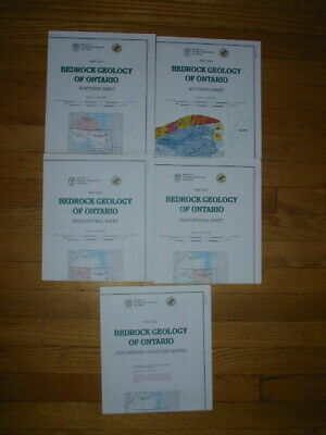 Geology maps of Ontario