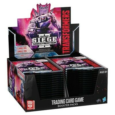 Transformers TCG : Guerre pour Cybertron - Siege II Booster Affichage (30)