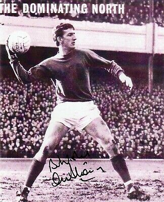 Alex Stepney  Autograph, Manchester United, Football,Soccer