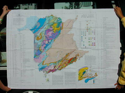 Geological Map Of New Brunswick