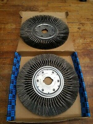 "2Pc Milwaukee 86808 Knot Wire Wheel Brush 15""x2"" AH Standard Twist New Equipment"
