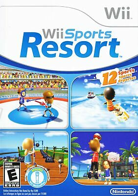 Wii Sports Resort Bundle - Nintendo  Wii Game Only