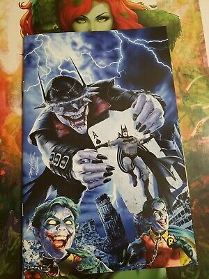 BATMAN WHO LAUGHS #1 Mike Mayhew VIRGIN Exclusive Homage  VARIANT Cover